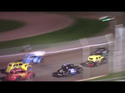 7/10/21 Legend Feature Beaver Dam Raceway - dirt track racing video image