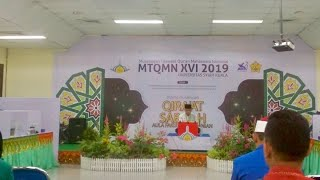 MTQN Mahasiswa di Aceh , Utusan Universitas Riau RAFIQ AL INDRA