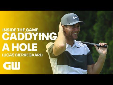 Caddying for Lucas Bjerregaard | Golfing World