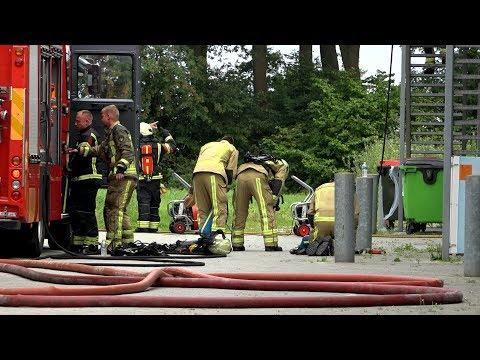 Grote binnenbrand op keukenboulevard Emmen