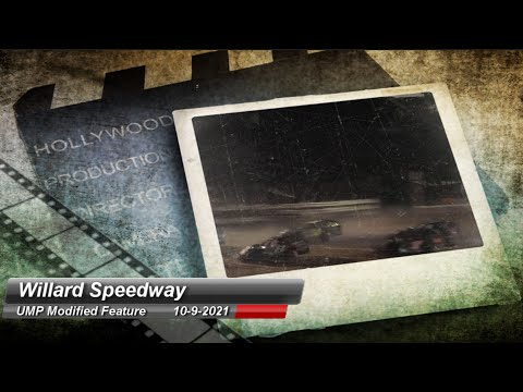 Willard Speedway - Modified Feature - 10/9/2021 - dirt track racing video image
