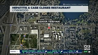 Lynnwood, Washington restaurant temporarily closed after worker contracts Hepatitis A