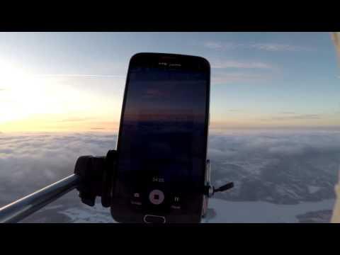 Sendte Samsung S6 30.000 meter til værs
