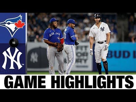Blue Jays vs. Yankees Game Highlights (9/9/21) | MLB Highlights