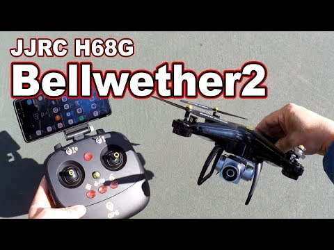 JJRC H68G Bellwether2 GPS Toy Drone Review  - UCnJyFn_66GMfAbz1AW9MqbQ