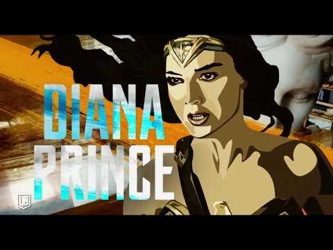 Liga de la Justicia - Diana Prince aka Wonder Woman - Castellano HD