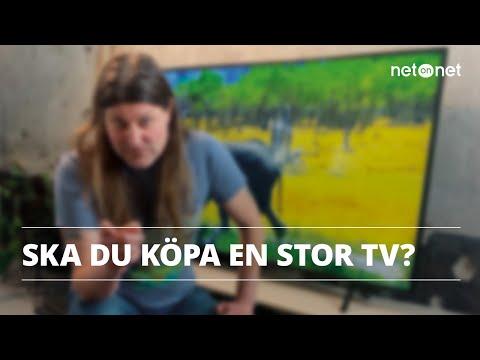 Att tänka på när du ska köpa en stor TV | NetOnNet