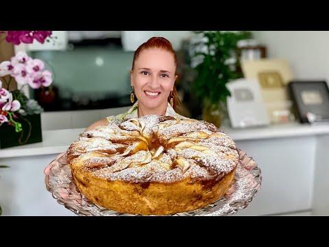 Воздушный ЯБЛОЧНЫЙ ПИРОГ с заварным кремом Тает во рту Новый рецепт Люда Изи Кук Пирог apple pie
