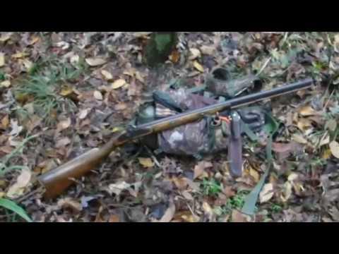 Opening day blackpowder deer hunt