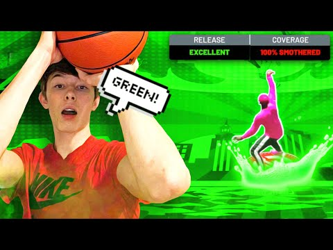 I ACCIDENTALLY FOUND THE  NEW  BEST JUMPSHOT WHEN USING MY IRL JUMPSHOT ON NBA 2K21 NEXT GEN!