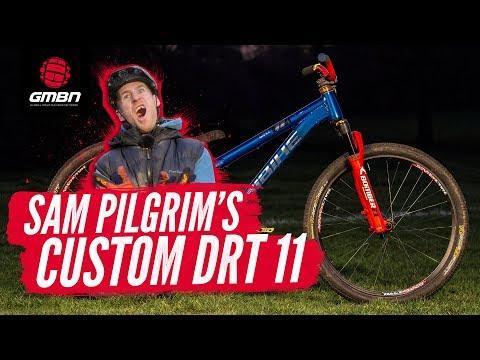 Sam Pilgrim's One-Of-A-Kind Haibike DRT 11 | GMBN Pro Bike
