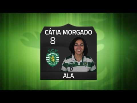 16/17 Golos Jornada 5 - Campeonato Nacional Feminino - Sporting CP 4 x 0 Del Negro