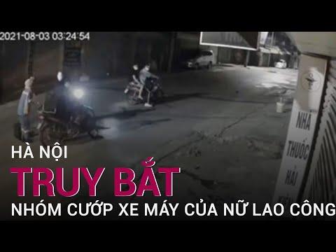 Phẫn nộ nhóm thanh niên chặn đường, cướp xe máy của nữ công nhân quét rác ở Hà Nội | VTC Now