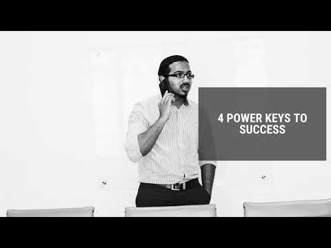 4 POWER KEYS TO SUCCESS, Daily Promise and Powerful Prayer