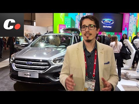 Ford Kuga SUV 2016 | Presentación / Review | Mobile World Congress - MWC | coches.net