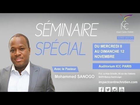 Pasteur Mohammed SANOGO - Vaincre les 4 formes d'attaques majeures du malin - Session 2