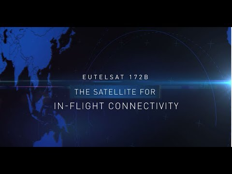 Eutelsat 172B - The satellite for In-Flight Connectivity