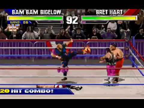 WWF Wrestlemania: The Arcade Game (Bam Bam Bigelow) (Sculptured Software) (MS-DOS) [1995]