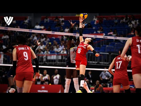 Ding Xia's 丁霞 Highlights from the Volleyball World Cup 2019 | Volleyball World