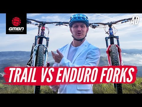 Enduro Vs Trail Suspension Fork | What's The Difference""