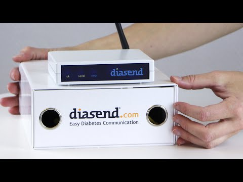diasend® Clinic - Setup Transmitter in clinic