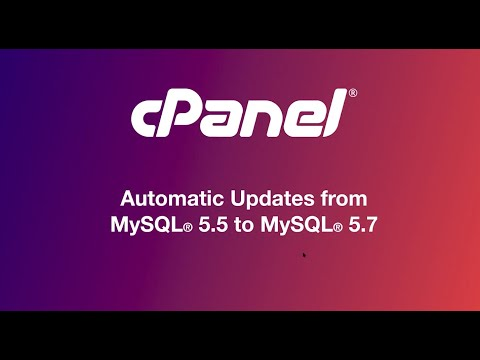 Automatic Updates from MySQL 5.5 to MySQL 5.7 Webinar