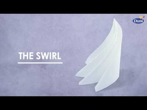 Napkin Folding - Swirl