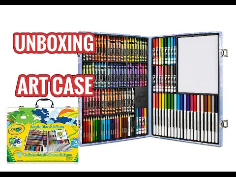 Unboxing Art Supplies | Inspirations Art Case - Crayola | Art Supplies Haul - UCe0HNzCdeTHPnnzcTR8CWvQ