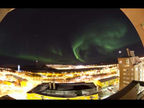Aurora over Kiruna - a slideshow by Rick McGregor