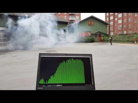 Autonome droner udstyret med sensorer skal hjælpe med at detektere partikelforurening i luften