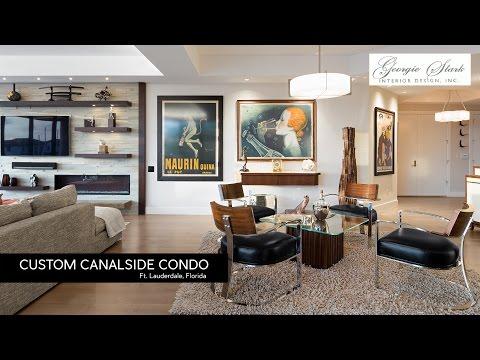 Custom Canalside Condo Georgie Stark Ft Lauderdale