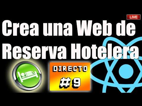 📆Programa una Web de Reserva Hotelera 🏨 con ReactJS⚛️