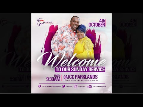 Jubilee Christian Church Parklands - Sunday Service - 4th Oct 2020  Paybill No: 545700 - A/c: JCC