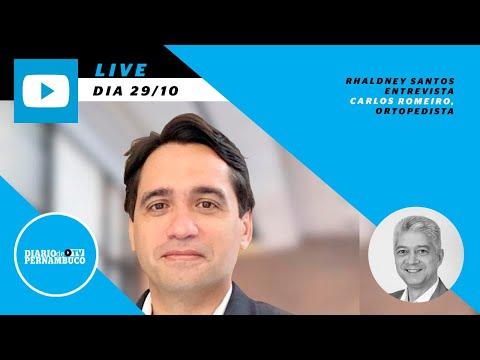 Rhaldney Santos entrevista Dr Carlos Romeiro, ortopedista