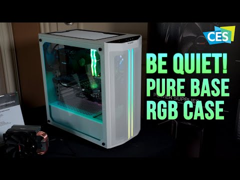 be quiet! upgrades their Pure Base case and debuts asymmetrical air coolers - CES 2020 - UCJ1rSlahM7TYWGxEscL0g7Q
