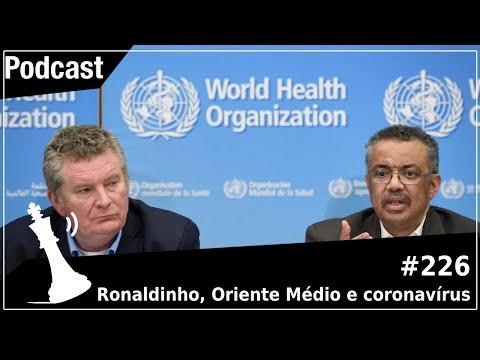 Xadrez Verbal Podcast #226 – Ronaldinho, Oriente Médio e coronavírus