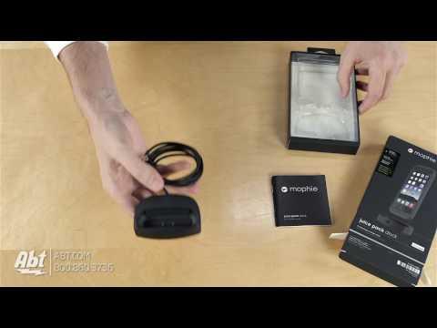 Unboxing: mophie Black Juice Pack Dock For iPhone 6/6s - 3080_DOCK-JP6-P-DESK-BLK