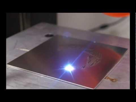 Portal's 'Still Alive' Played by Fiber Laser