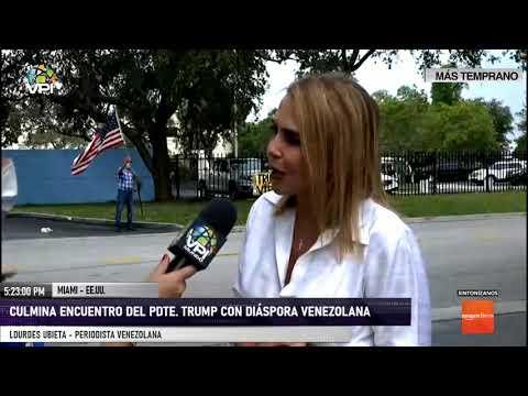 EE.UU. - Periodista venezolana aseguró que Trump ha favorecido la salida de Maduro - VPItv