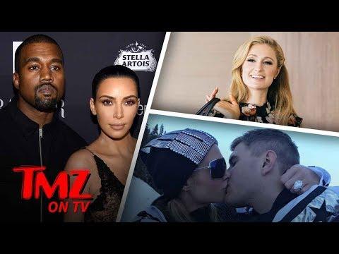 Kim & Kanye Want To Go To Paris Hilton's Wedding!   TMZ TV