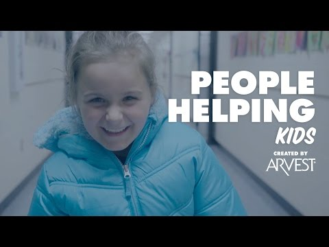 Gary Townzen Provides Coats for Kids – People Helping People Created by Arvest Bank