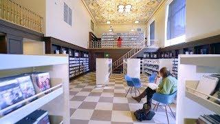 Библиотека-технохаб Теslа-роботакси ДЕТАЛИ