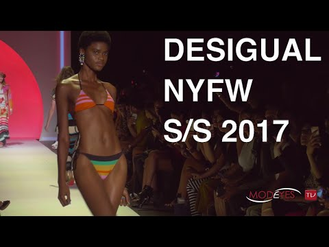 DESIGUAL | S/S 2017 FASHION SHOW | EXCLUSIVE BACKSTAGE + RUNWAY