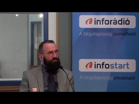 InfoRádió - Aréna - Szájer József - 1. rész - 2019.05.08.
