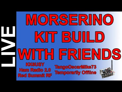 Ham Radio Kit Building - Morserino 32 Kit Build