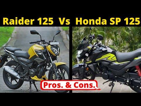 TVS Raider 125 Vs Honda SP125   Raider 125 Price   Raider 125 Details   Raider 125 Vs SP 125  