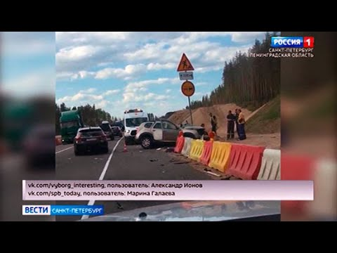 """На трассе """"Скандинавия"""" лоб в лоб столкнулись фура и легковой автомобиль"""