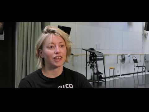 Skånes Dansteater, UNCHARTED, intervju, repetitioner / interview, rehearsals, Madeleine Månsson