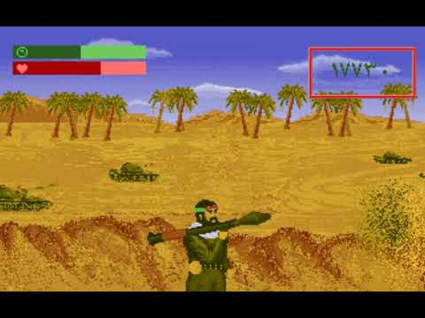 Tank Hunter (a.k.a. شکارچی تانک) (Honafa) (MS-DOS) [1995] [PC Longplay]