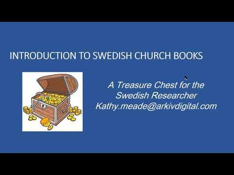 Introduction to Swedish Church Books